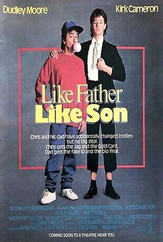 Like Father Like Son (1987) Main Poster