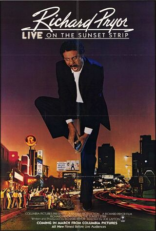 Richard Pryor: Live On The Sunset Strip (1982) Main Poster