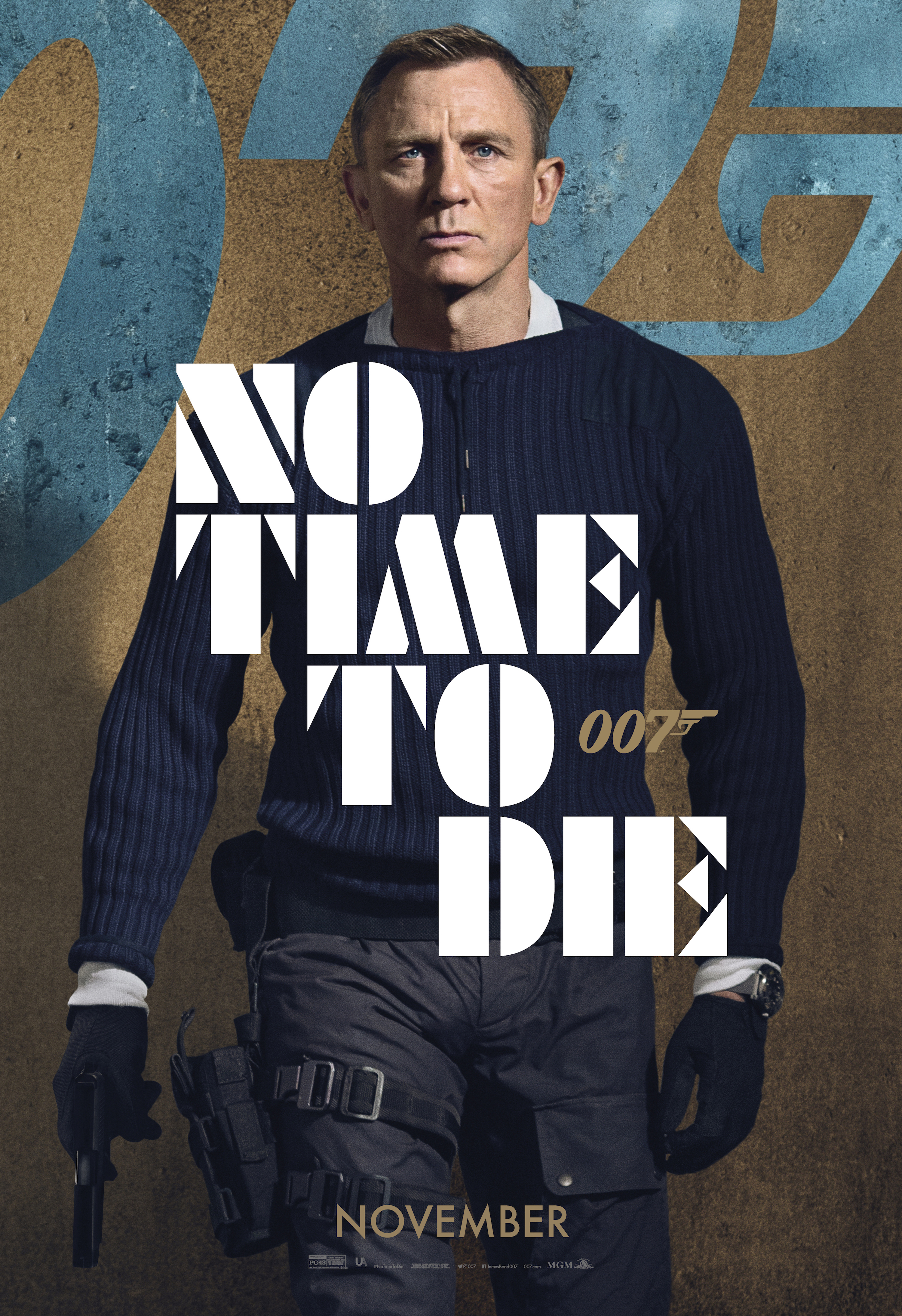 No Time To Die (2021) Main Poster
