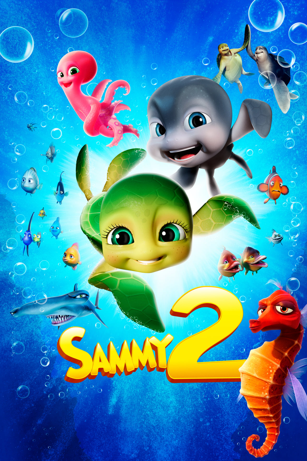 A Turtle's Tale 2: Sammy's Escape From Paradise (2013) Main Poster