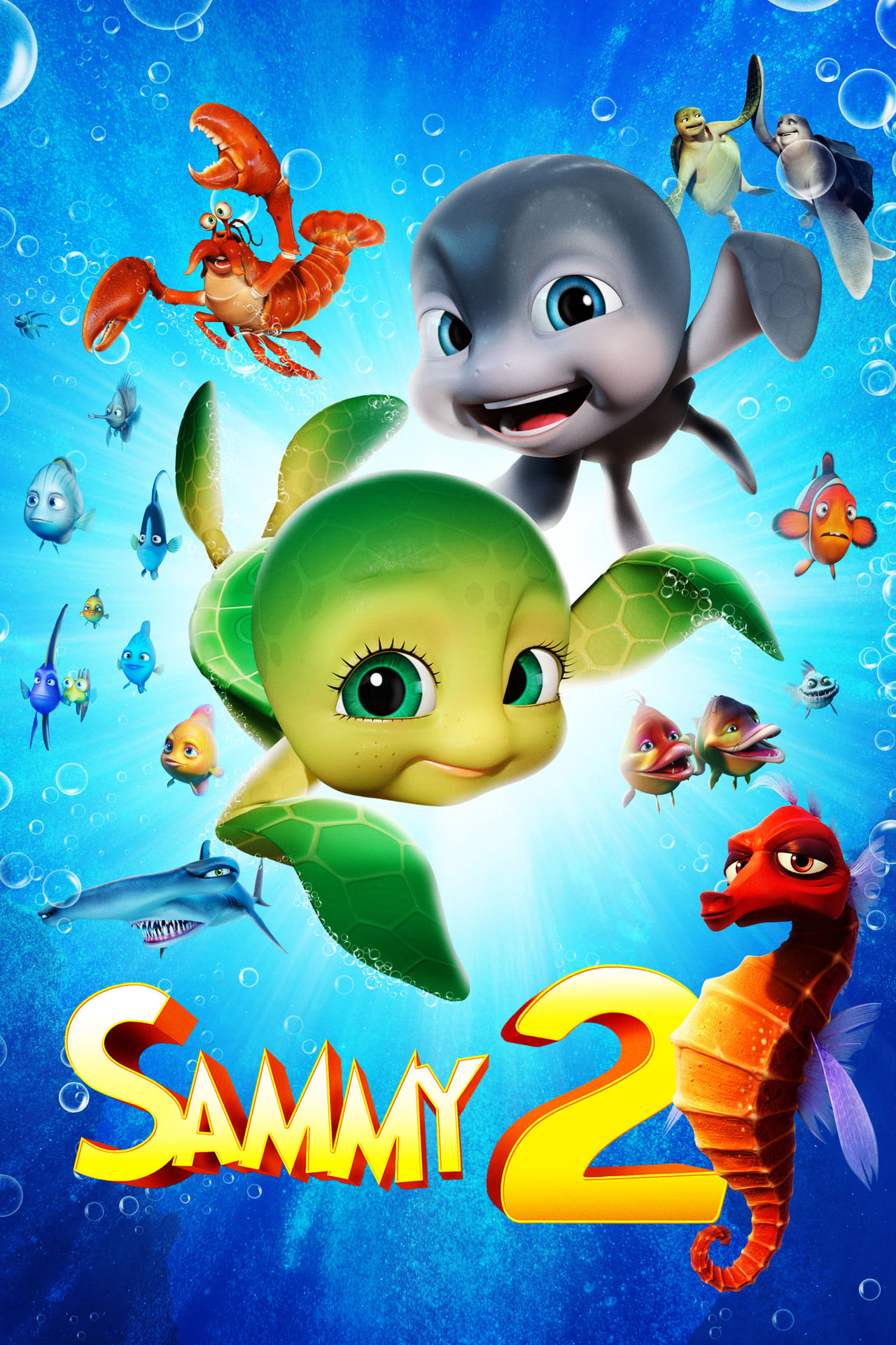 A Turtle's Tale 2: Sammy's Escape From Paradise (2013) Poster #2