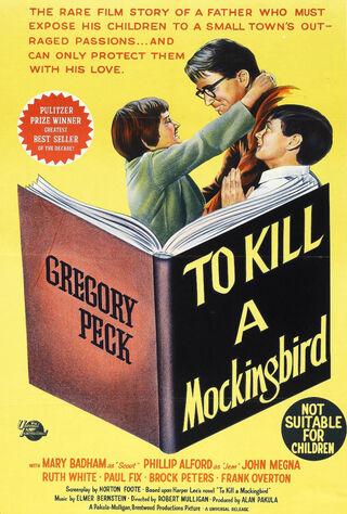 To Kill A Mockingbird (1963) Main Poster