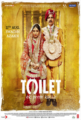 Toilet: A Love Story (2017) Main Poster