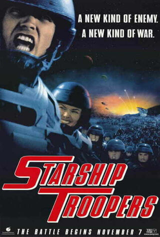 Starship Troopers (1997) Main Poster