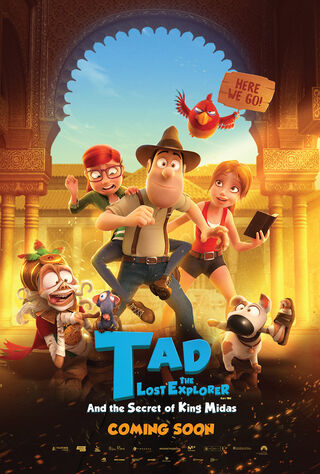 Tad The Lost Explorer And The Secret Of King Midas (2017) Main Poster