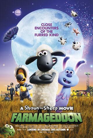 A Shaun The Sheep Movie: Farmageddon (2020) Main Poster