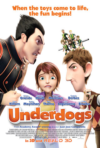 Underdogs (2013) Main Poster
