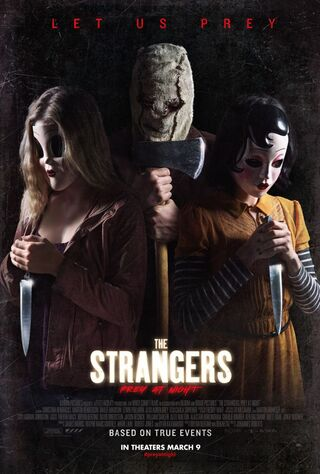 The Strangers: Prey At Night (2018) Main Poster