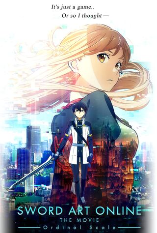 Sword Art Online The Movie: Ordinal Scale (2017) Main Poster