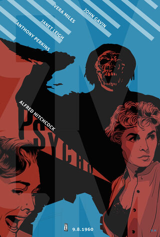 Psycho (1960) Main Poster