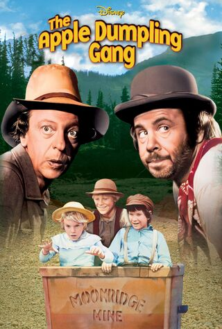 The Apple Dumpling Gang (1975) Main Poster