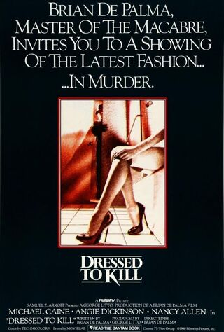 Dressed To Kill (1980) Main Poster