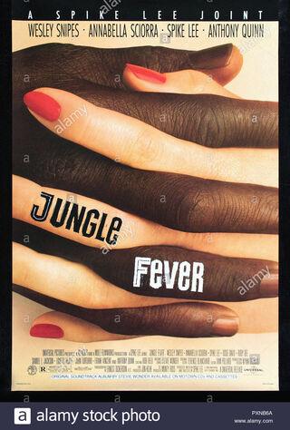 Jungle Fever (1991) Main Poster