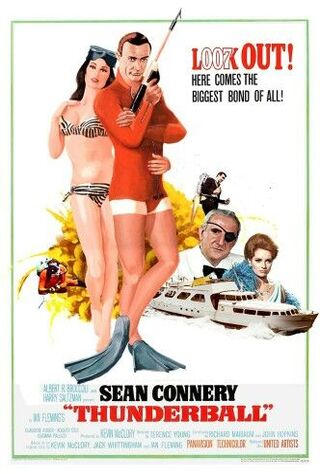 Thunderball (1965) Main Poster