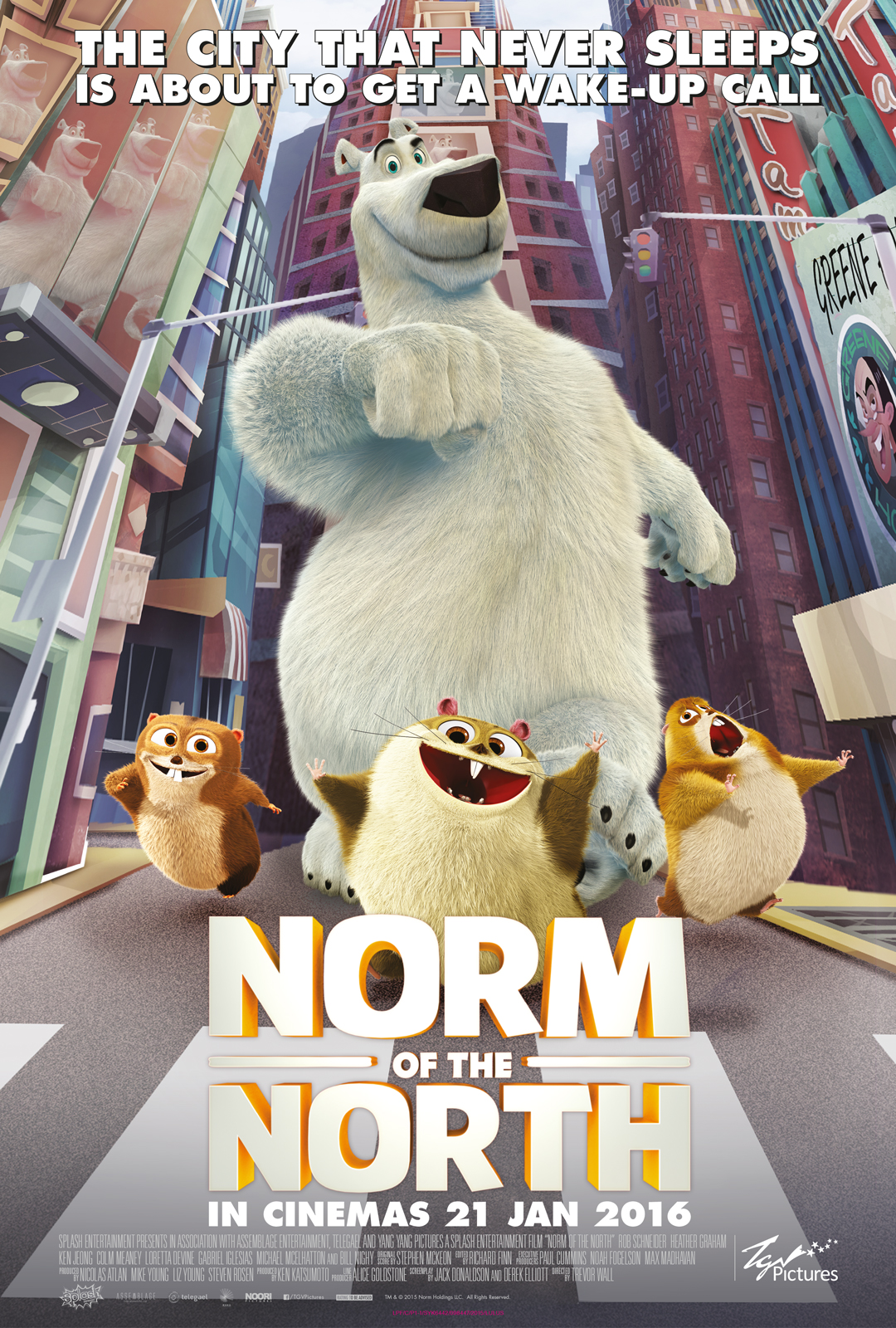 Norm Of The North (2016) Main Poster
