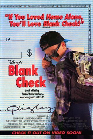 Blank Check (1994) Main Poster