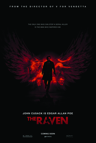 The Raven (2012) Main Poster