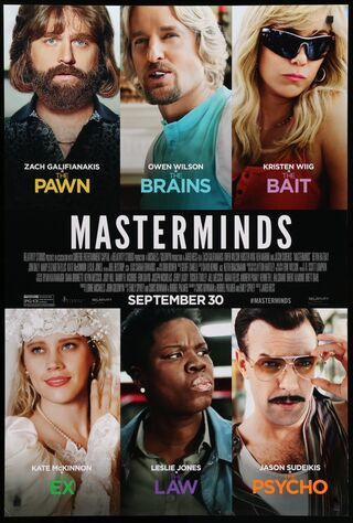 Masterminds (2016) Main Poster
