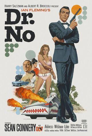 Dr. No (1962) Main Poster