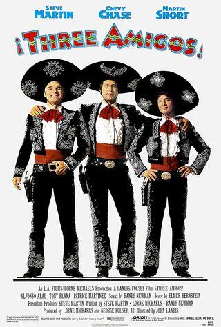 ¡Three Amigos! (1986) Main Poster