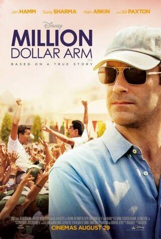 Million Dollar Arm (2014) Main Poster