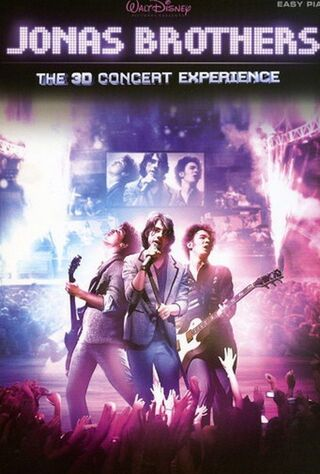 Jonas Brothers: The 3D Concert Experience (2009) Main Poster