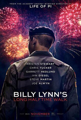 Billy Lynn's Long Halftime Walk (2016) Main Poster
