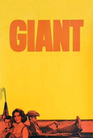 Giant (1956) Main Poster