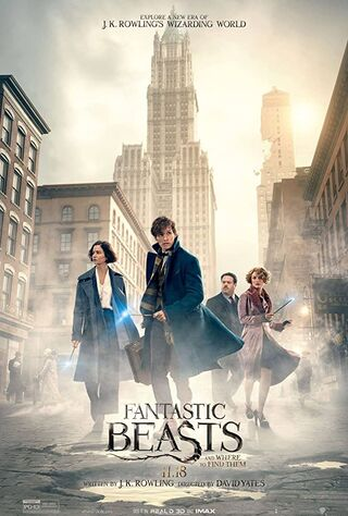 Fantastic Beasts and Where to Find Them (2016) Main Poster
