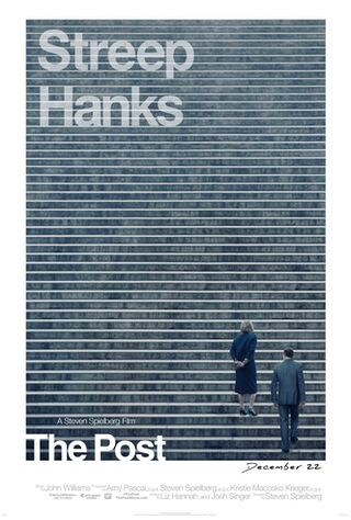 The Post (2018) Main Poster