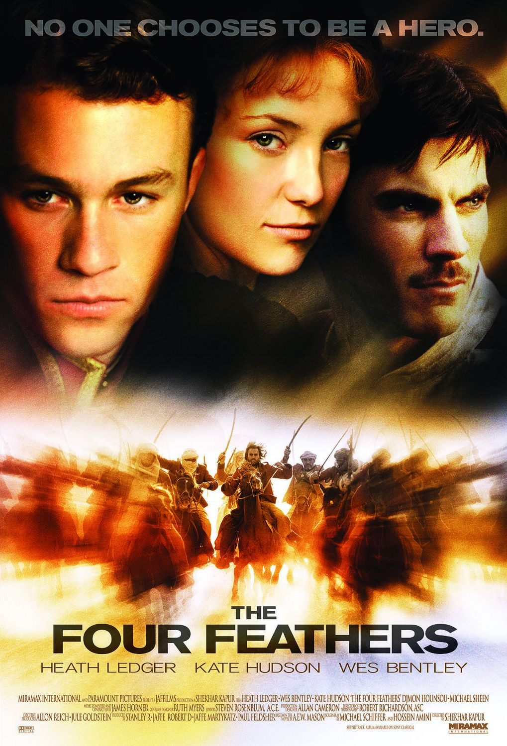 The Four Feathers (2002) Main Poster