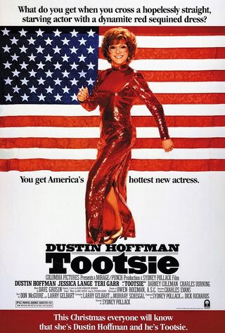 Tootsie (1982) Main Poster