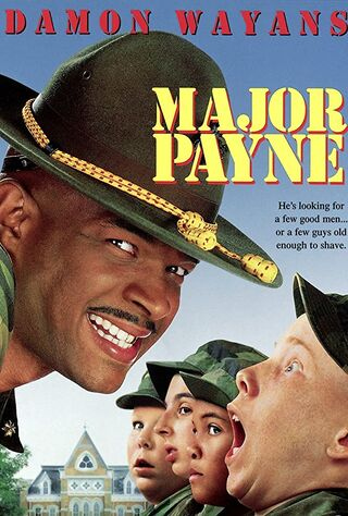 Major Payne (1995) Main Poster