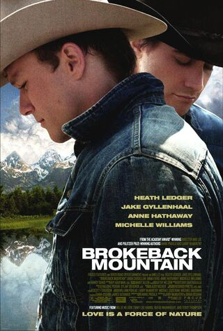 Brokeback Mountain (2006) Main Poster