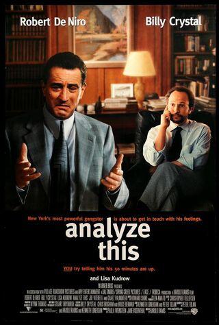 Analyze This (1999) Main Poster