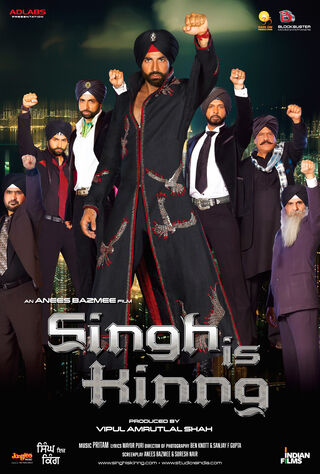 Singh Is King (2008) Main Poster