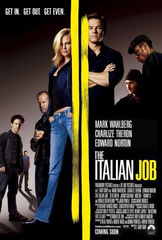 The Italian Job (2003) Main Poster