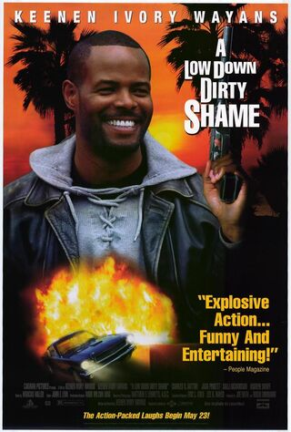 A Low Down Dirty Shame (1994) Main Poster