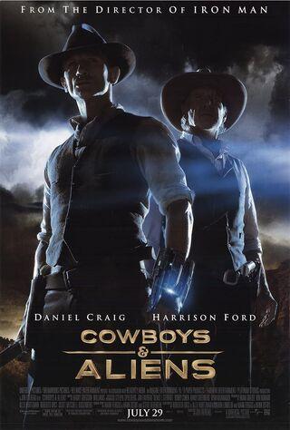 Cowboys & Aliens (2011) Main Poster
