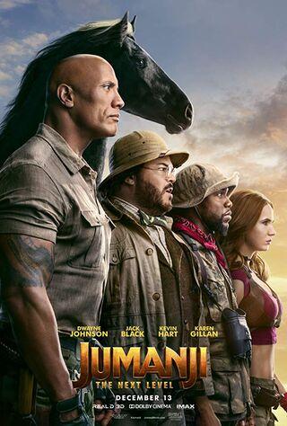 Jumanji: The Next Level (2019) Main Poster