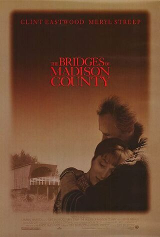 The Bridges Of Madison County (1995) Main Poster