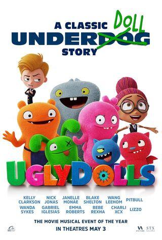 UglyDolls (2019) Main Poster