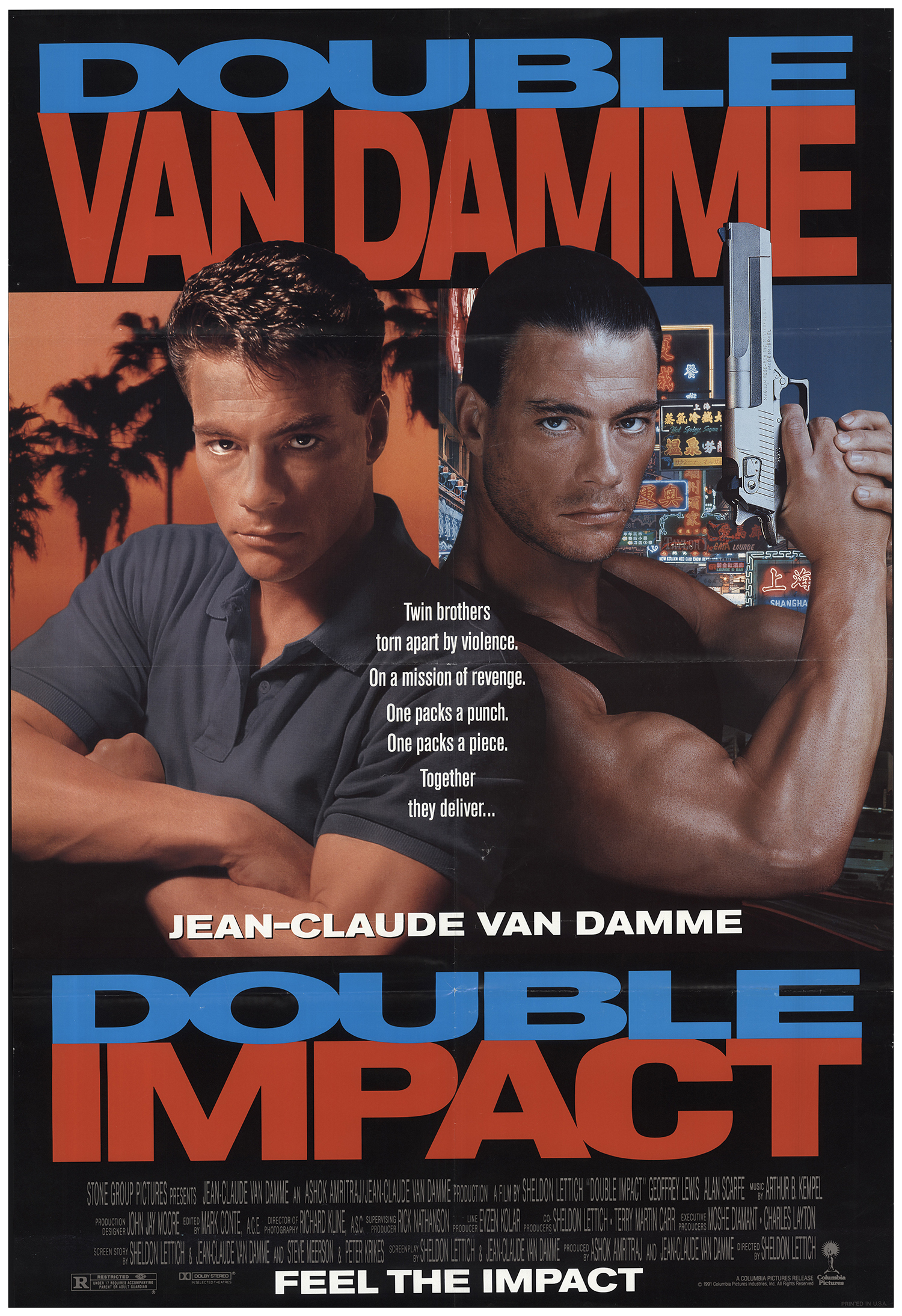 Double Impact (1991) Main Poster