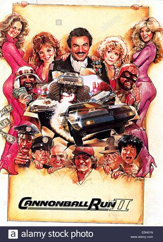 Cannonball Run II (1984) Main Poster