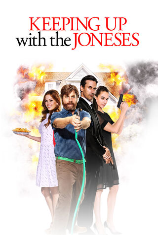 Keeping Up With The Joneses (2016) Main Poster
