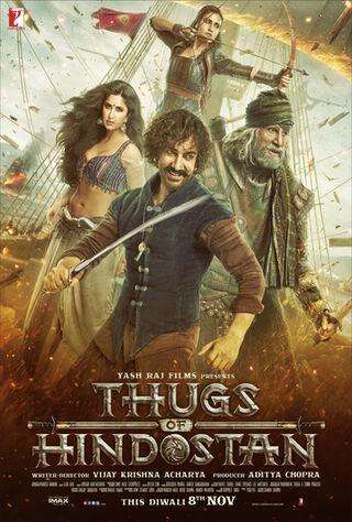 Thugs Of Hindostan (2018) Main Poster
