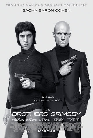 The Brothers Grimsby (2016) Main Poster
