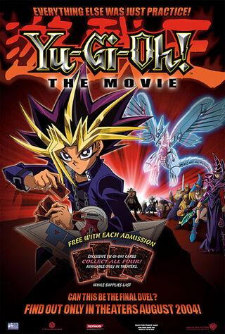 Yu-Gi-Oh!: The Movie - Pyramid Of Light (2004) Main Poster