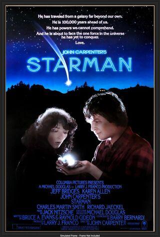 Starman (1984) Main Poster