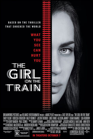 The Girl On The Train (2016) Main Poster